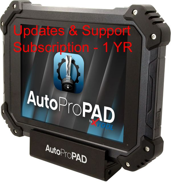 AutoProPAD and AutoProPAD Lite Updates & Unlimited Phone and Online Support Subscription - 1 year XTOOL