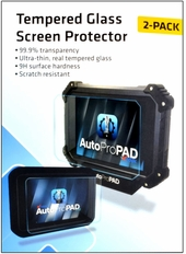 AutoProPAD LITE Tempered Glass Screen Protector