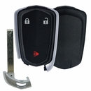 CADILLAC SRX 3 button smart proxy remote case with insert key