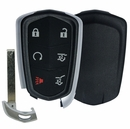 CADILLAC Escalade 6 button smart remote case with insert key