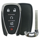Chevrolet 5 Button Smart Remote Replacement Shell w/Trunk