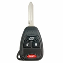 Chrysler / Dodge / Jeep 4 Button Remote Head Key - Ilco brand