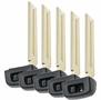EMERGENCY SINGLE-SIDED BLADE 69515-33100 FOR TOYOTA HYQ14FBA SMART REMOTES - 5 PACK'