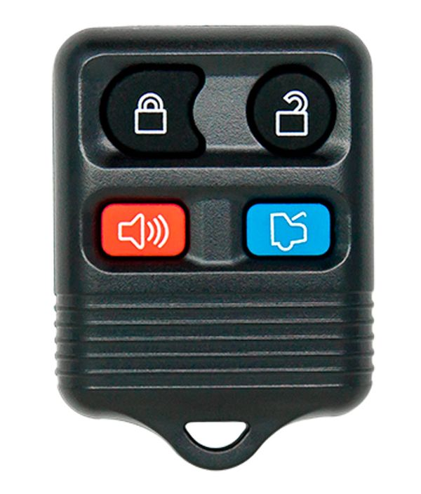 Ford 4 Button Keyless Entry Remote - Aftermarket Ilco brand, 8S4Z-15K601-AA , F8DB-15K601-BA , F87B-15K601-BA , 2S4T-15K601-AA , CWTWB1U331