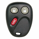 General Motors 3 Button Keyles Entry Remote - Aftermarket Ilco brand