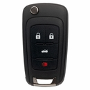 General Motors 4 Button Flip Key Remote - Aftermarket Ilco brand
