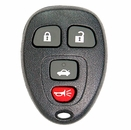 General Motors 4 Button Keyles Entry Remote - Aftermarket Ilco brand