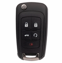 General Motors 5 Button Flip Key Remote - Aftermarket Ilco brand