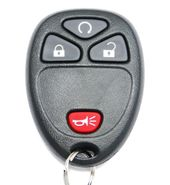 GM Remote Key Fob Replacement with Remote Start OUC60270, OUC60221 20952474 Refurbished