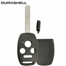 HONDA 4 button remote head rugged replacement DURASHELL case, shell with blank key