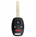 Honda Civic 4 Button Remote Head Key - Aftermarket Ilco brand