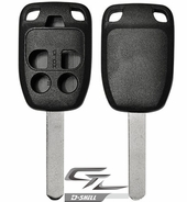HONDA Odyssey 5 button remote head rugged replacement D-SHELL case