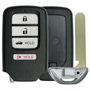 HONDA Smart Remote 4 button Case with Emergency Key