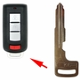 INSERT KEY BLADE SAME AS 6370A770 MIT3 FOR MITSUBISHI SMART REMOTES - 5 PACK'