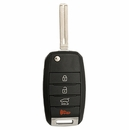 Kia 4 Button Flip Key Remote - Aftermarket Ilco brand