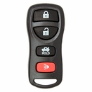 Nissan/Infiniti 4 Button Keyless Entry Remote - Aftermarket Ilco brand