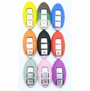 Nissan, Infiniti Keyless Remote smart key rubber cover - 3 button