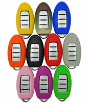 Nissan, Infiniti Smart Remote rubber cover - 5 buttons