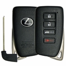 Original Lexus Smart Remote Replacement Shell with Emergency Key