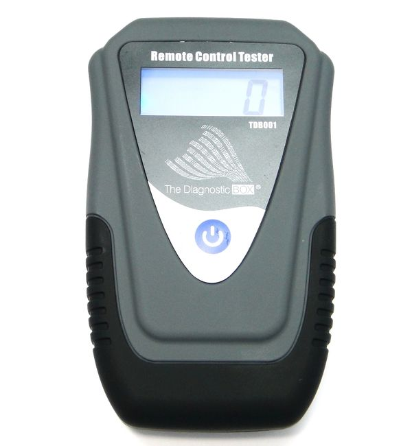 The Diagnostic Box Remote Control Tester - TDB001. has been designed to offer a quick and accurate way to test radio frequency (RF) remote controls and also infra red (IR) remote controls. It's a must for any automotive locksmith.