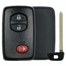 Toyota 3 Button Smart Remote Replacement Shell