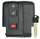 Toyota Prius Smart Remote Replacement Shell - 3 Buttons