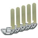 UNCUT EMERGENCY KEY BLADE FOR HONDA SAME AS 35118-T2A-A50 - 5 PACK