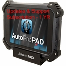 Updates & Support Subscription - 1 year AutoProPAD & AutoProPAD Lite XTOOL