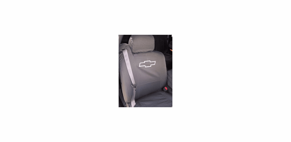 FRONT SEATS<br> Custom Canvas Seat Covers
