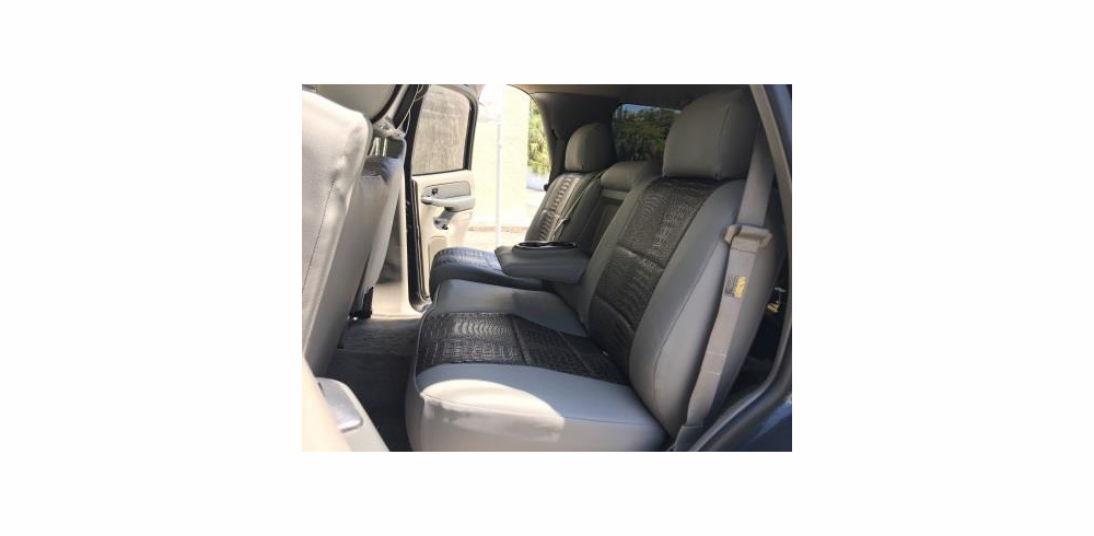 REAR SEAT: Leatherette Seat Covers