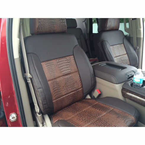 RuffTuff Exotic Material Seat Covers