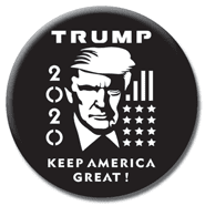 Cool Trump 2020 Button