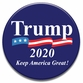 TRUMP 2020 Pennant Button