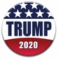 TRUMP 2020 Patriotic Button