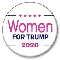 Women for Trump 2020 Button