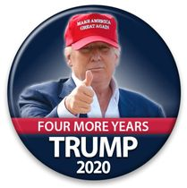 Four More Years Button