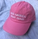 Pink Make America Great Again Cap