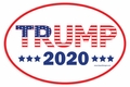 Patriotic TRUMP 2020 Window Cling