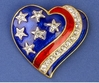 Heart of a Patriot Pin