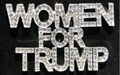 Women for Trump Crystal Pin