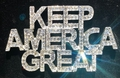Keep American Great Crystal Pin
