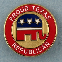 Proud Texas Republican Pin