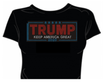 Rhinestone TRUMP 2020 Keep America Great Tee