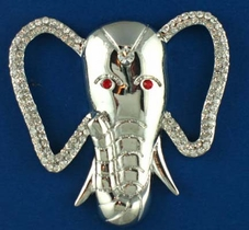Stately Elephant Pin