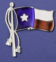 Texas Flag Pin