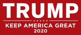 Trump - Keep America Great Sticker - Red