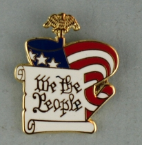 We the People Lapel Pin