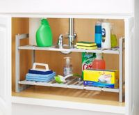 Adjustable Under Sink Shelves