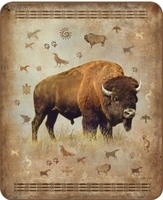 Bison Luxury Blanket