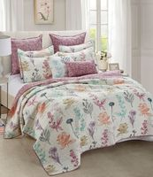 Botanical Rush Quilt Full/Queen